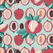 Stone fruit lychee