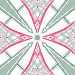 Passionfruit plaid. star design