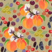 stone fruits pattern