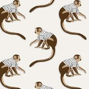 Dance Monkey offwhite by DEINKI (medium scale)