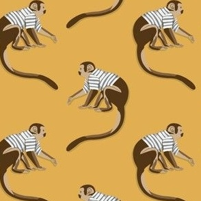 Dance Monkey yellow by DEINKI (medium scale)