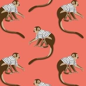 Dance Monkey red by DEINKI (medium scale)