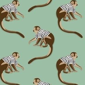 Dance Monkey green by DEINKI (medium scale)