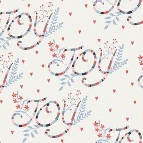 Joy offwhite/red by DEINKI (medium scale)