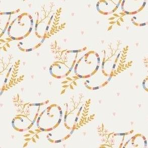 Joy offwhite/yellow by DEINKI (medium scale)