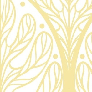 Art Deco Autumn Oak Leaf - Extra Large