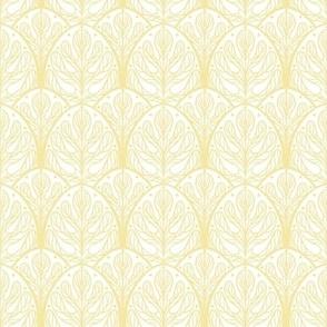 Art Deco Autumn Oak Leaf - Small