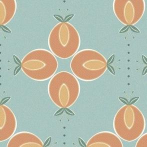Peach Pie Ribbon Winner - seafoam pearl green