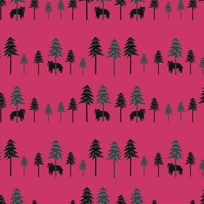 Woodland Bear R Red