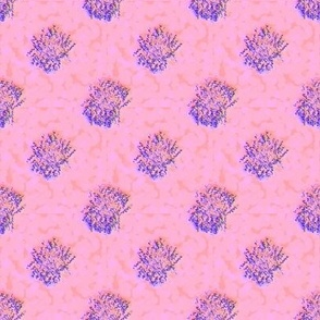 DPD21 - Disintegrating Polka Dots in Purple and Orange
