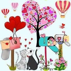 Sending Valentine Letters