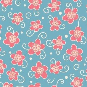Swirly-Spring cerulean