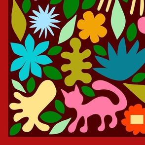 Animal Garden Seek & Find Play Mat 54 x 36