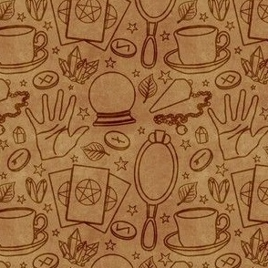 Divination (Tea Stain)