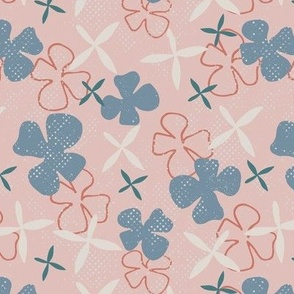 alpine floral in pink