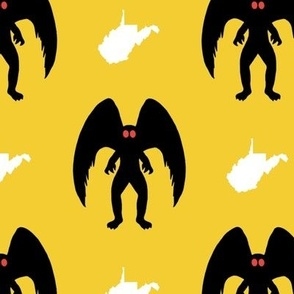 Yellow Gold Mothman and WV