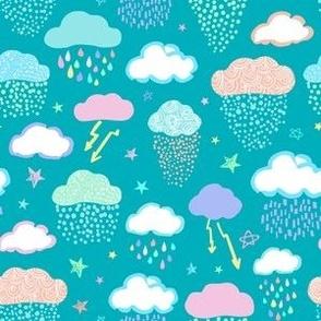 Chance of Rain Teal