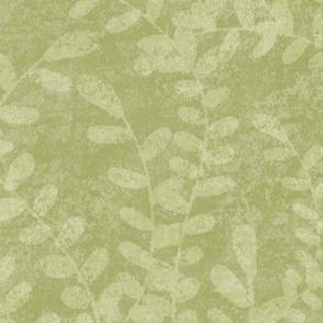 Seaweed on Light Green - Large Print