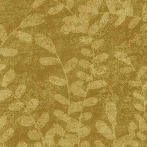 Seaweed on Gold - Large Print
