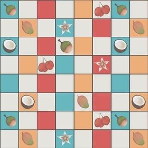Tropical Stone Fruit Mosaic