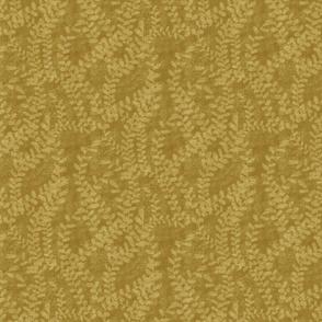 Seaweed on Gold - Small Print