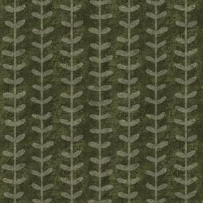 Kelp Forest on Dark Green