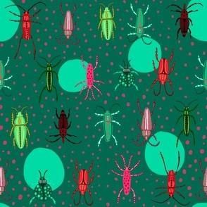 Beetles and Dots