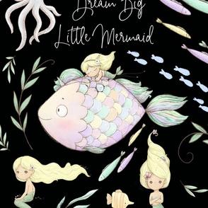 27x36 blanket mermaid