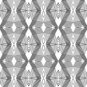 Mini geometric - monochrome
