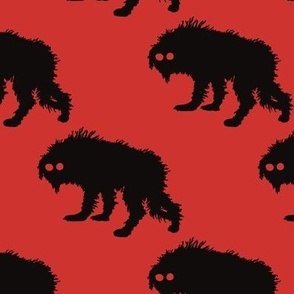 Red Snarly Yow Repeating