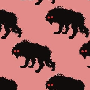 Dusty Pink Snarly Yow Repeating