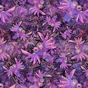 FANTASTIC Owls Purple large