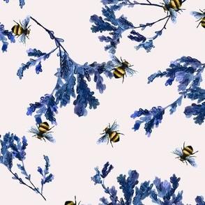 Bee and Foliage Cream