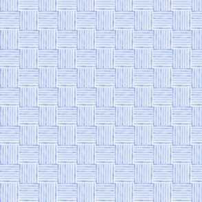 Blue Water Color ribbon Weave