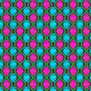 Geometric_1 in Neon Colors