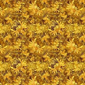 FANTASTIC Owls gold small
