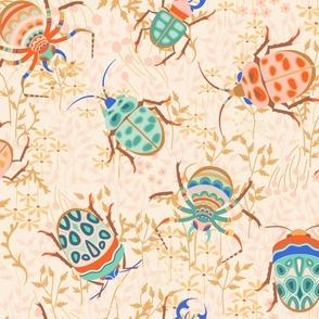 Retro Bugs Garabateo