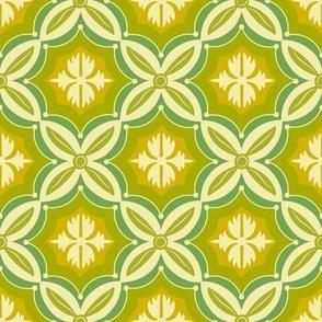 Orobia - Green Geometric