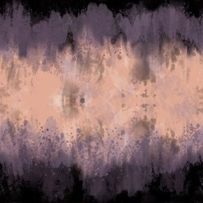Peach Pastel abstract nature