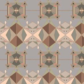 Retro Geometric Spring