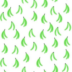Electric bananas - lime green