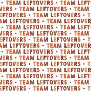 Team Leftovers - multi orange - LAD21