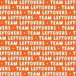 Team Leftovers - orange - LAD21