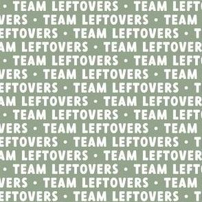 Team Leftovers - sage - LAD21