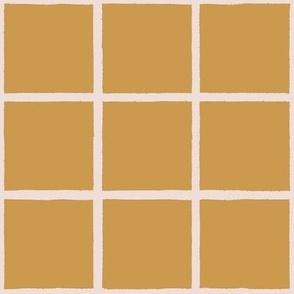 brushy grid mustard