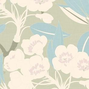 Vintage Florals - Tea Party / Large