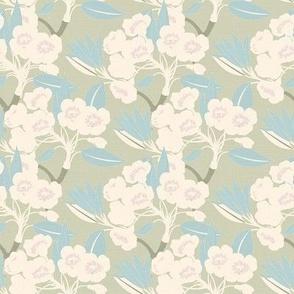 Vintage Florals - Tea Party / Medium