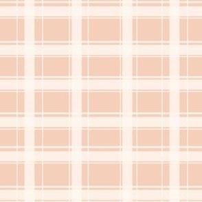 Plaid gingham Soft Pink