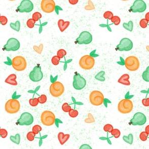 Fruit Basket White