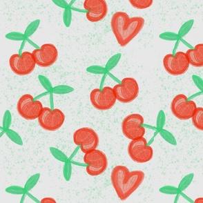 Just Cherries Grey